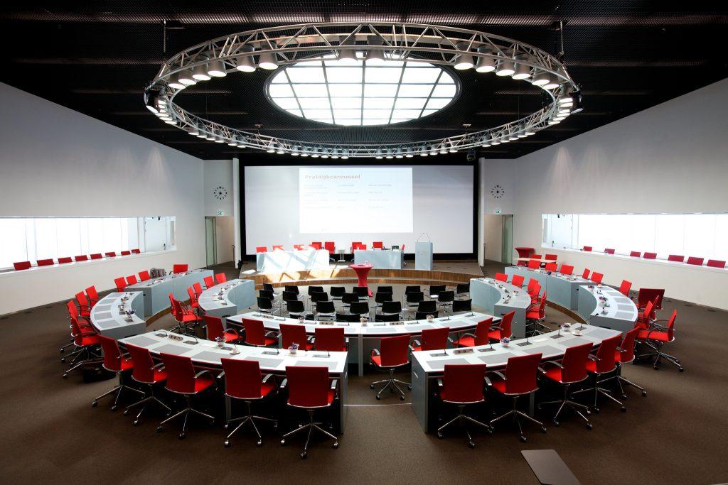 Statenzaal in het provinciehuis Utrecht