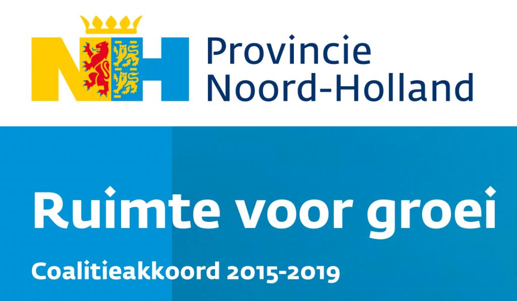 Provincie Noord-Holland coalitieakkoord 2015-2019